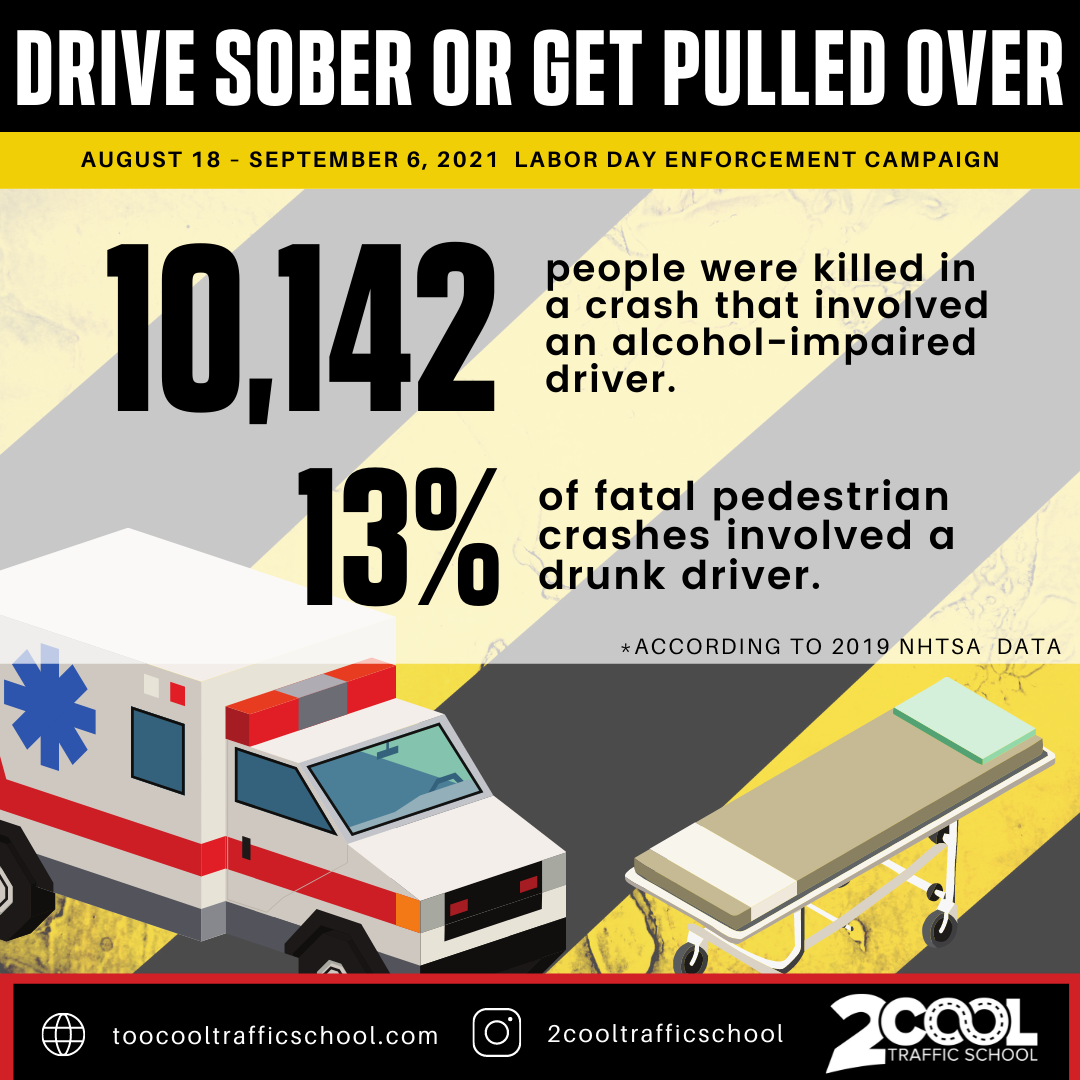 Drive sober or get pulled over campaign - Instagram